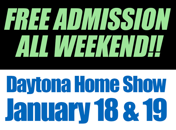 Free Admission to Daytona Beach Home Show